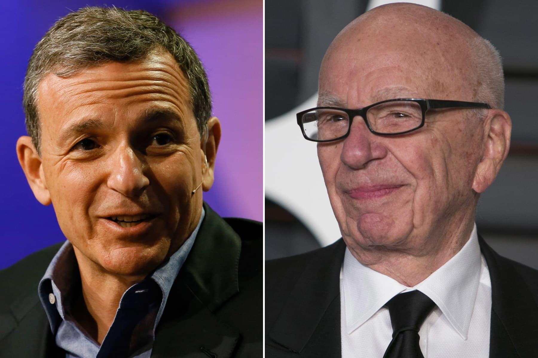 Premium: Bob Iger Rupert Murdoch split