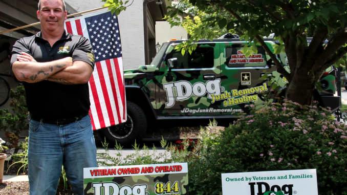 Jerry Flanagan built veteran-owned JDog franchise