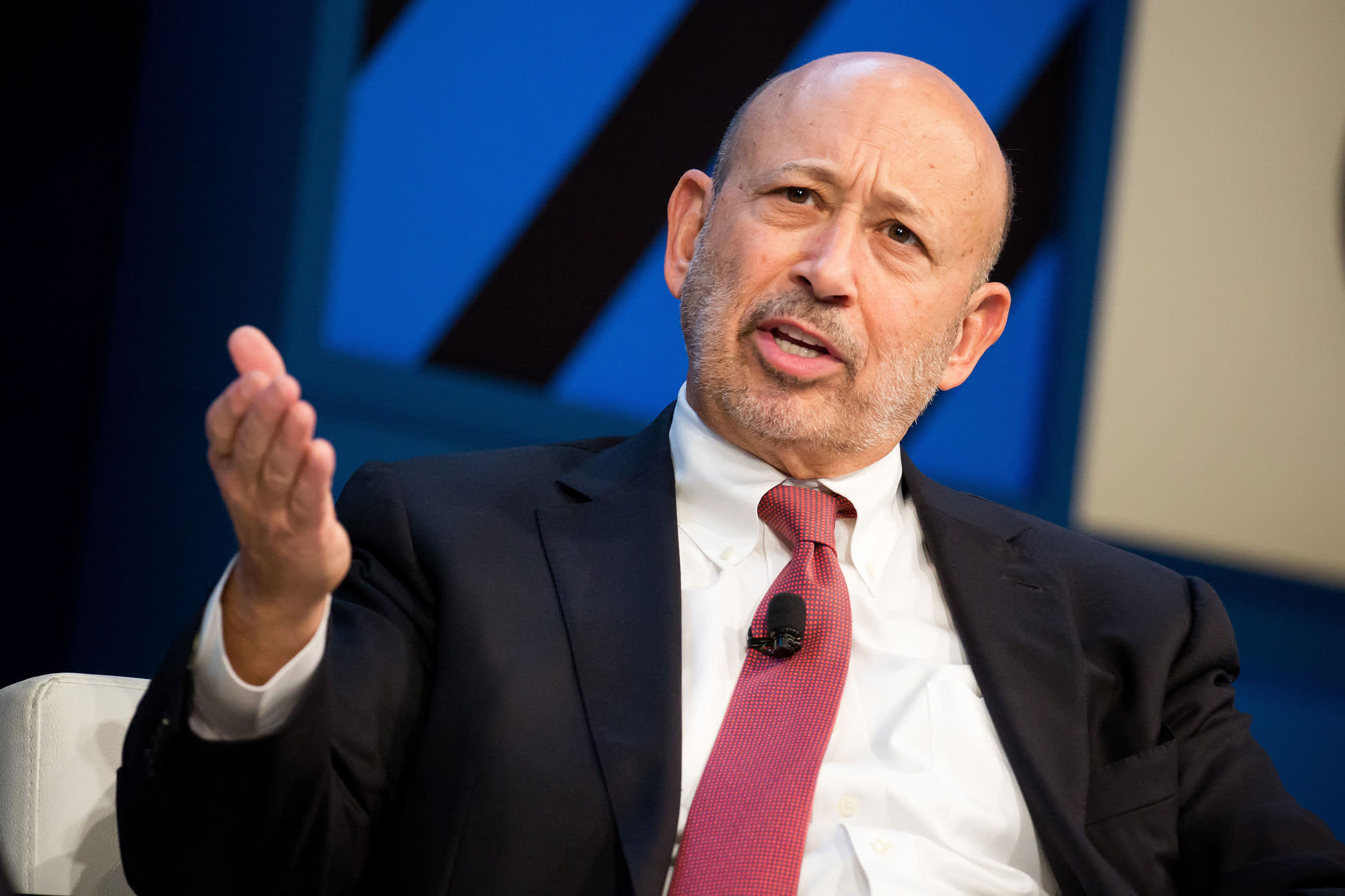 Lloyd Blankfein defends CEO pay on CNBC: 'Do you think television reporters make too much money? I do'