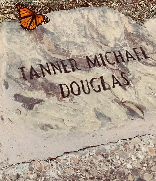 ONE TIME USE: Tanner Douglas tombstone