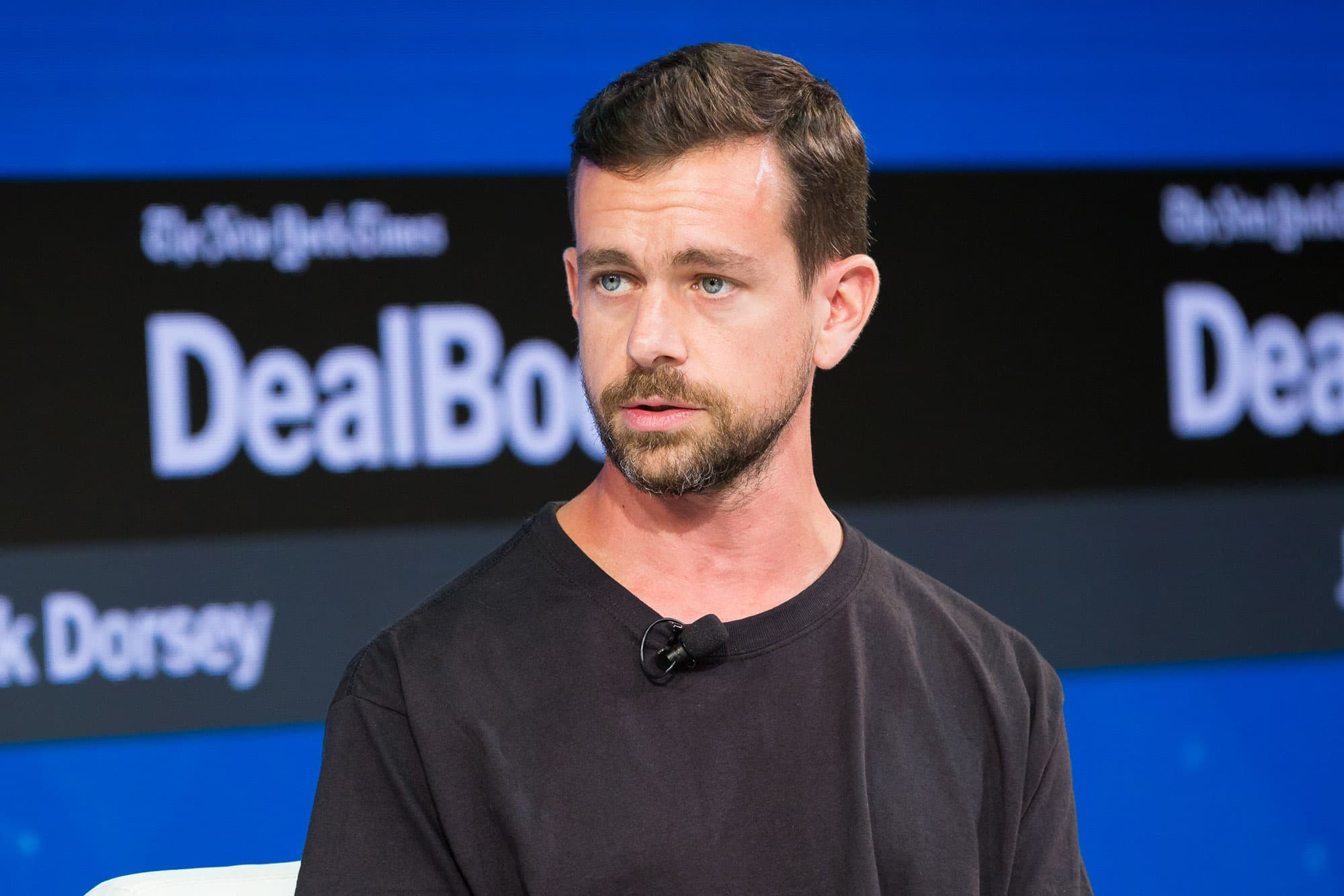 Jack Dorsey Ceo Of Twitter And Square Speaks At Dealbook After Sq Earnings