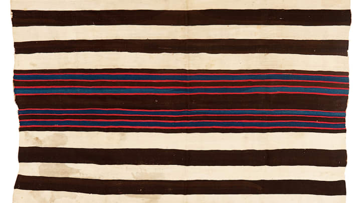 Krytzer Sold Navajo Blanket Thought To