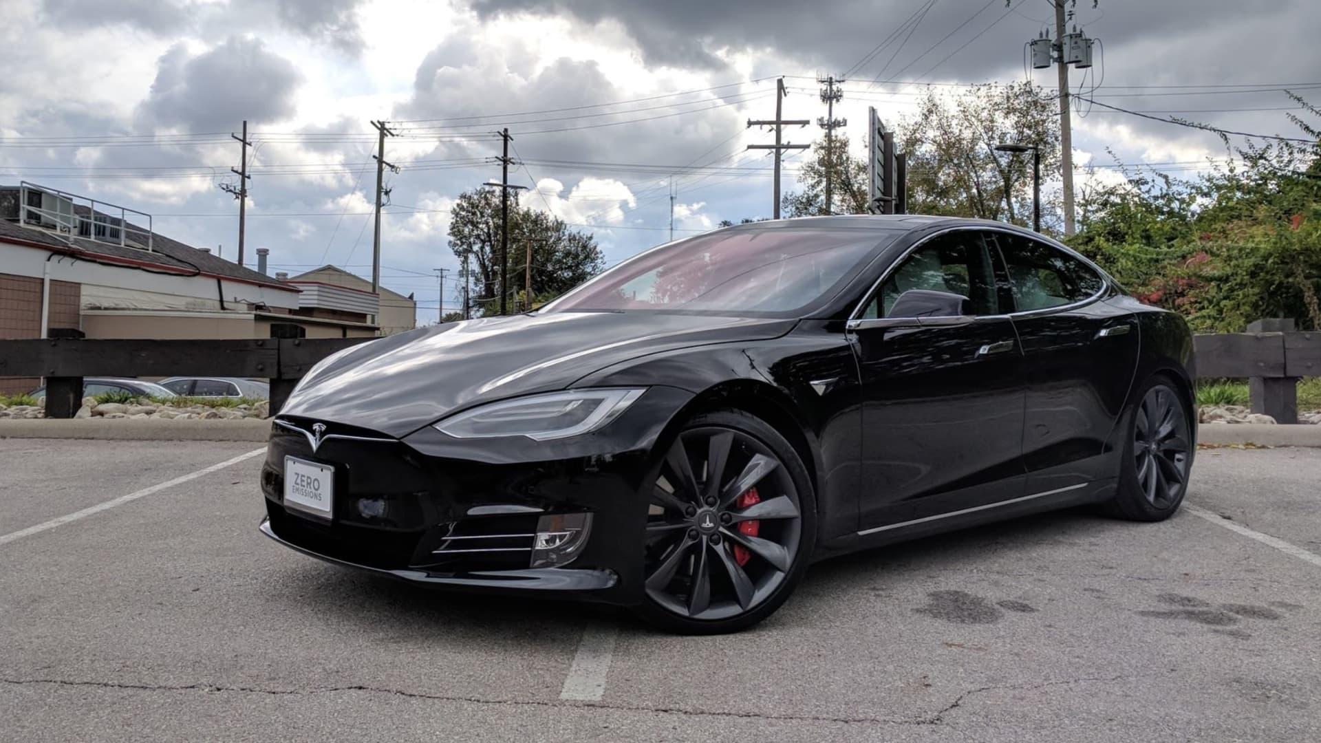 The Tesla Model S P100D