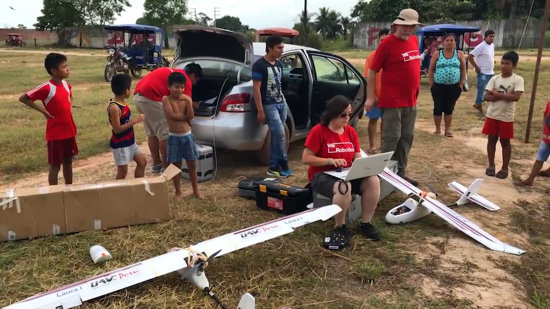 Delivering medical supplies into the remote Amazon is a big challenge, but drones could help