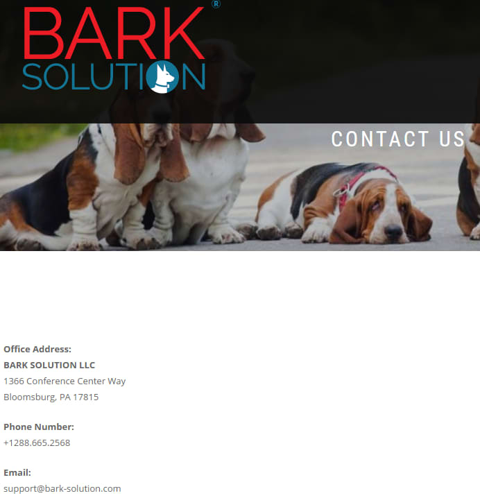 bark solution contact LEVY 171114