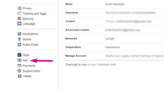 How to find out what Facebook knows about me