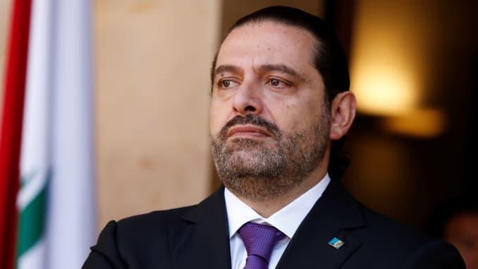 RT: Lebanon's Prime Minister Saad al-Hariri
