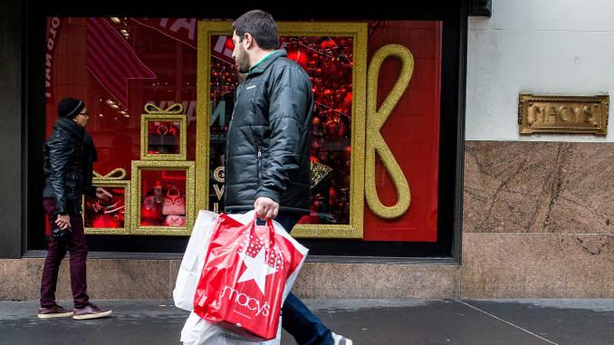 Premium: Holiday shopping shopper Macy's retail sales