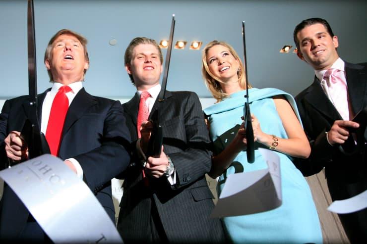 AP: Trump SoHo New York ribbon cutting 170409