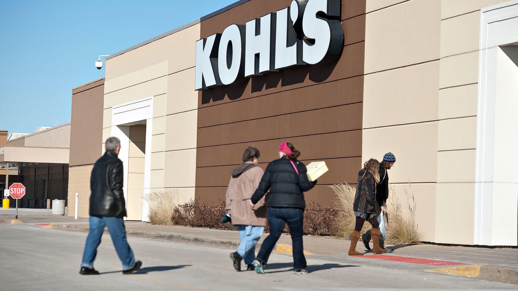 Kohl's shares tank on dismal holiday