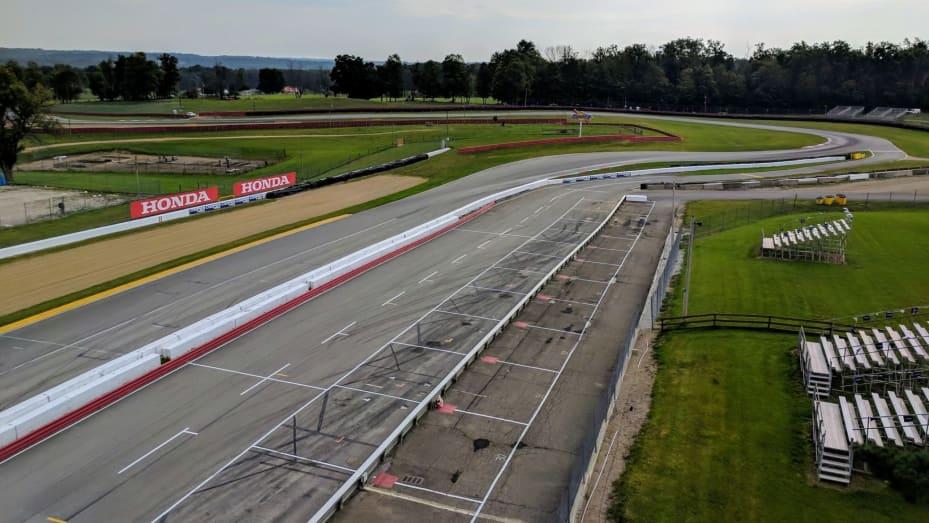 The Mid-Ohio driving school track