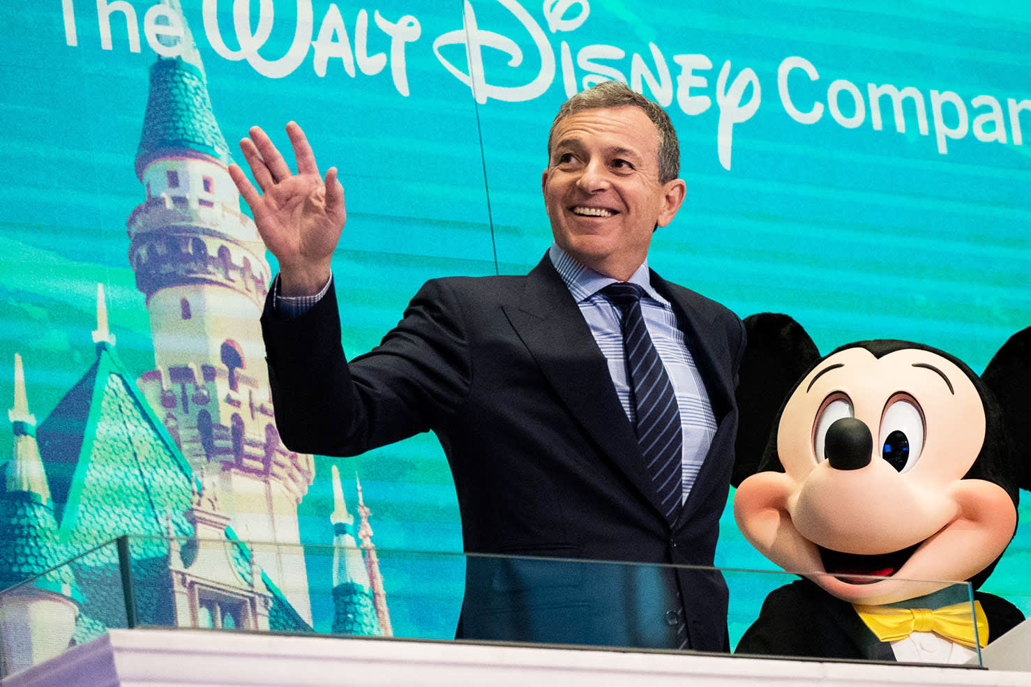 GS: Bob Iger Mickey Mouse NYSE Walt Disney Co. 171127-002