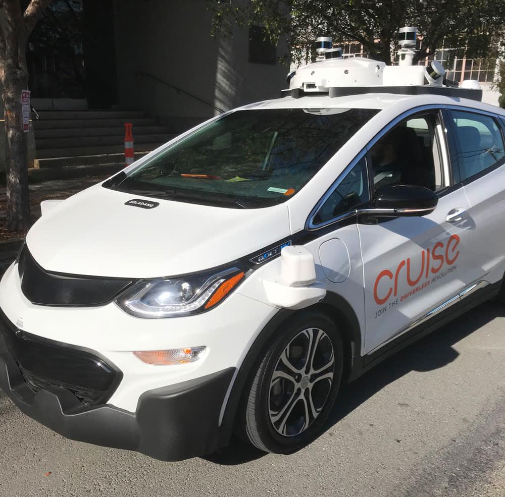CNBC: Cruise driverless car chart asset