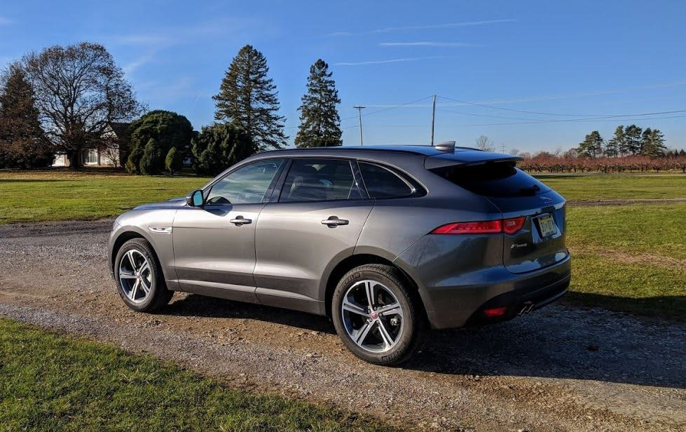 The 2018 Jaguar F Pace 20d R Sport Swaps Gas For Sel And Isn T As Fun 35t