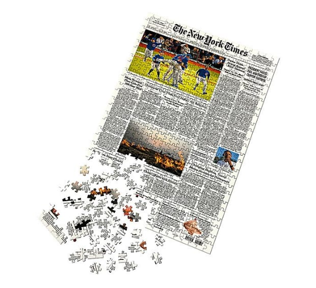 ONE TIME USE NYT puzzle