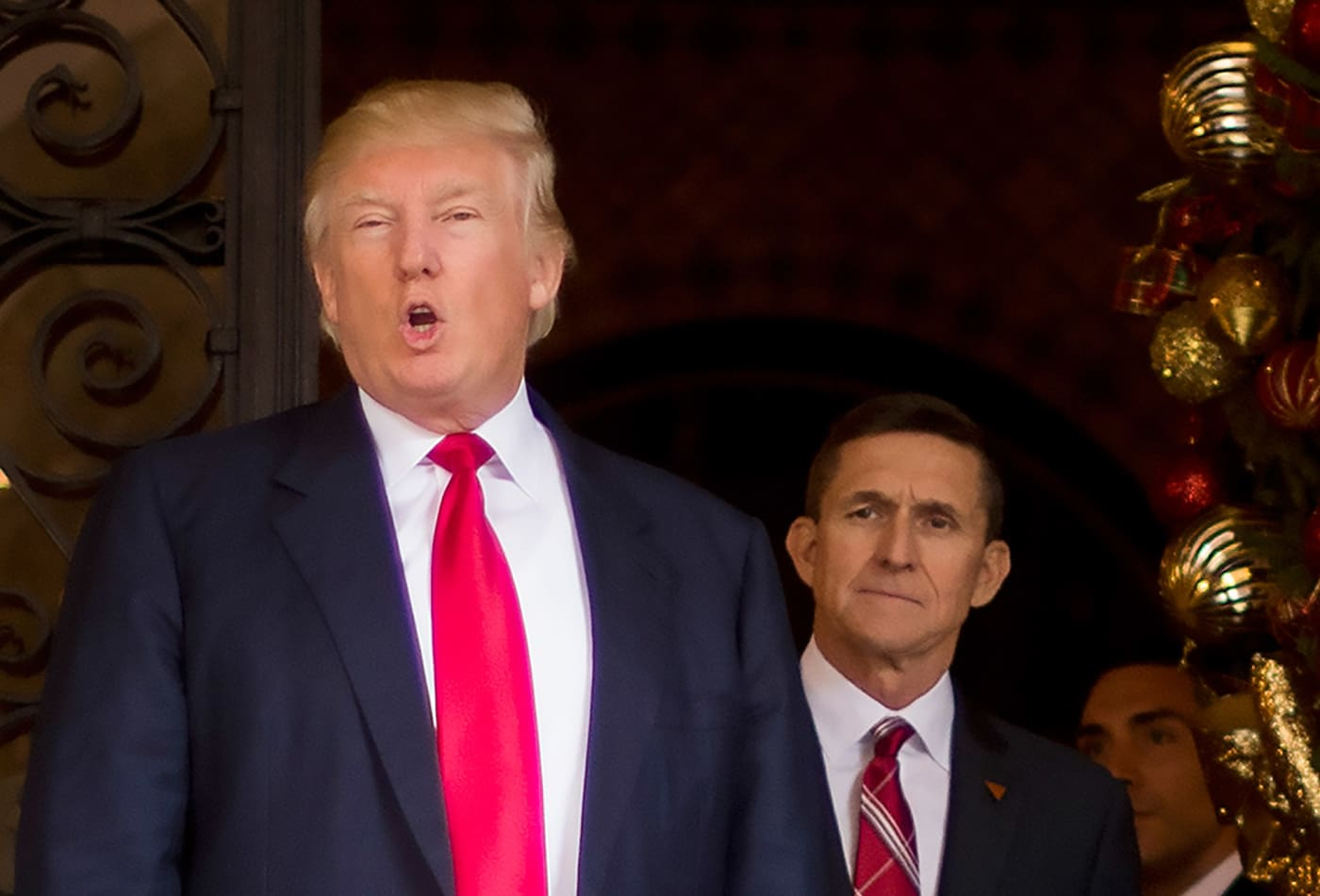 Trump considering 'full pardon' of former national security advisor Michael Flynn