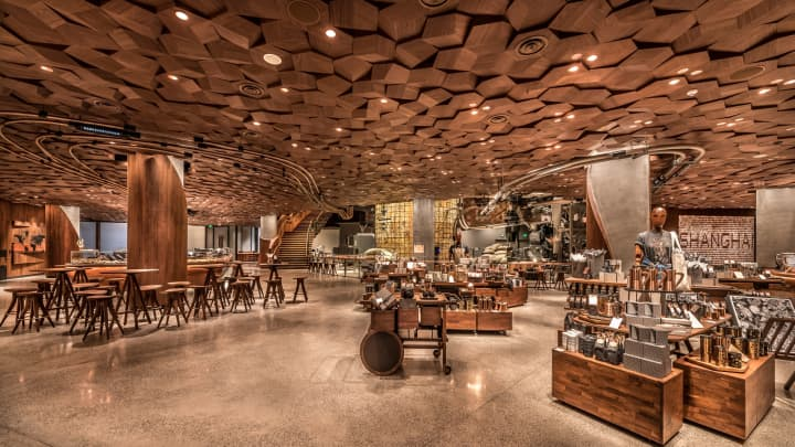 Here S What Starbucks New Roastery In Shanghai Looks Like