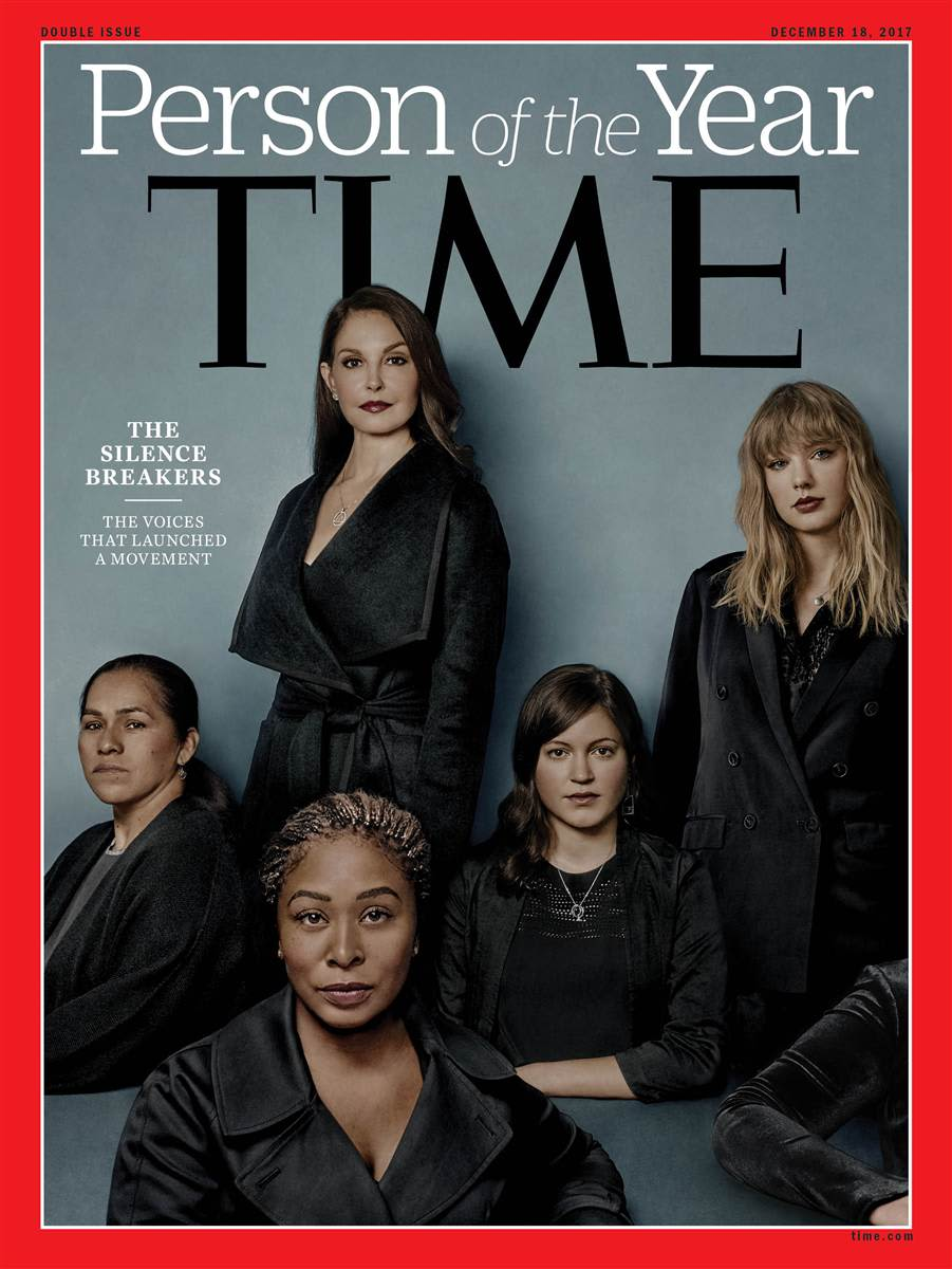 Time Person of the Year The Silence Breakers cover