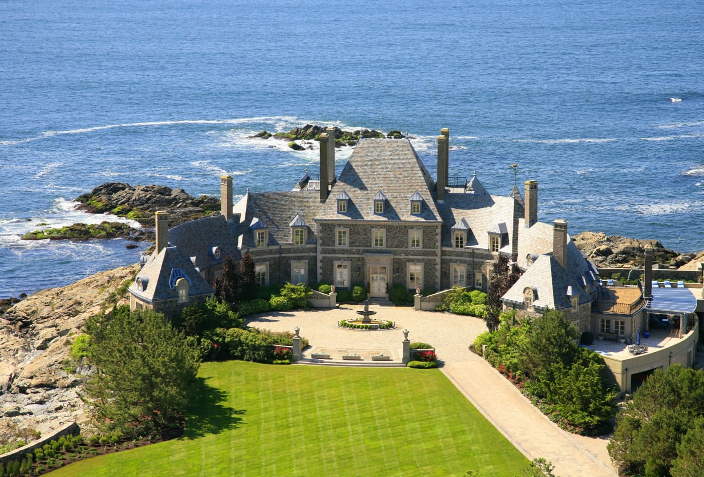 Photos Of Jay Leno S 13 5 Million Mansion In Newport Rhode