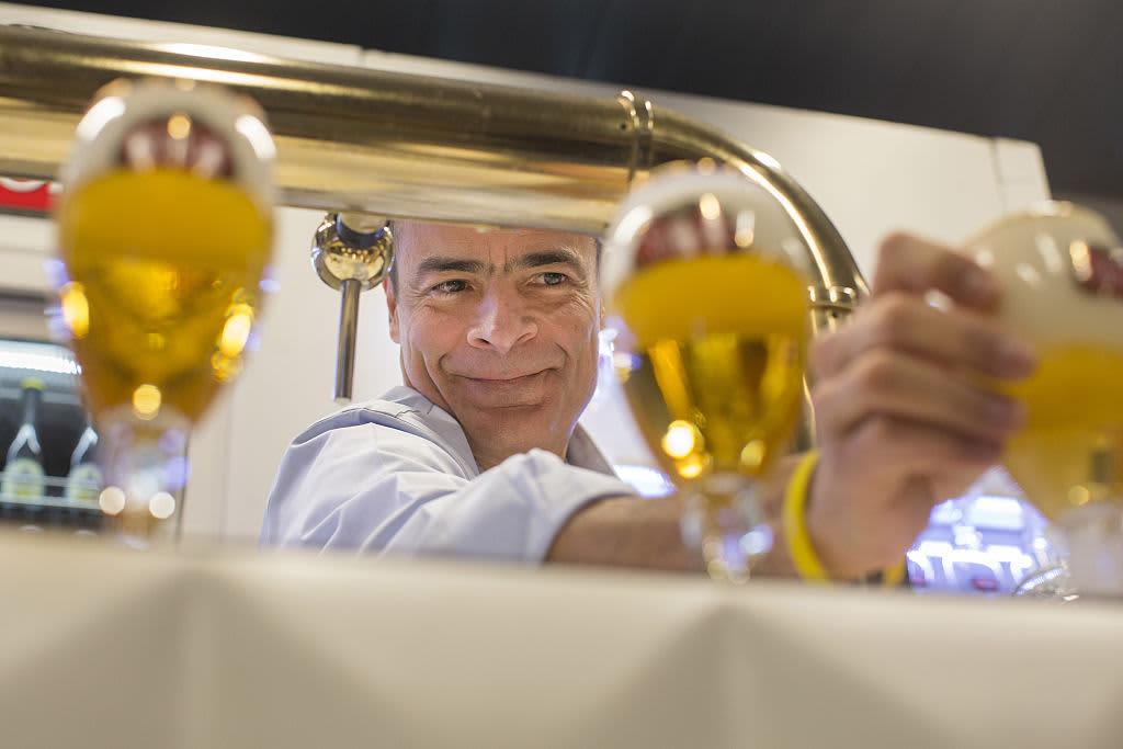 Brewer AB InBev eyes minority listing of Asian business