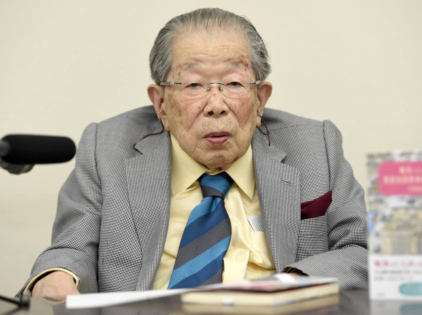 This Japanese longevity expert lived to 105 — here's what he ate every day