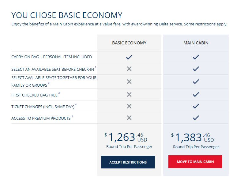 Delta To Charge 60 Check A Bag Europe In 2018