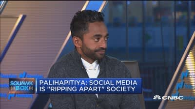 Why Chamath Palihapitiya's family doesn't get screen time