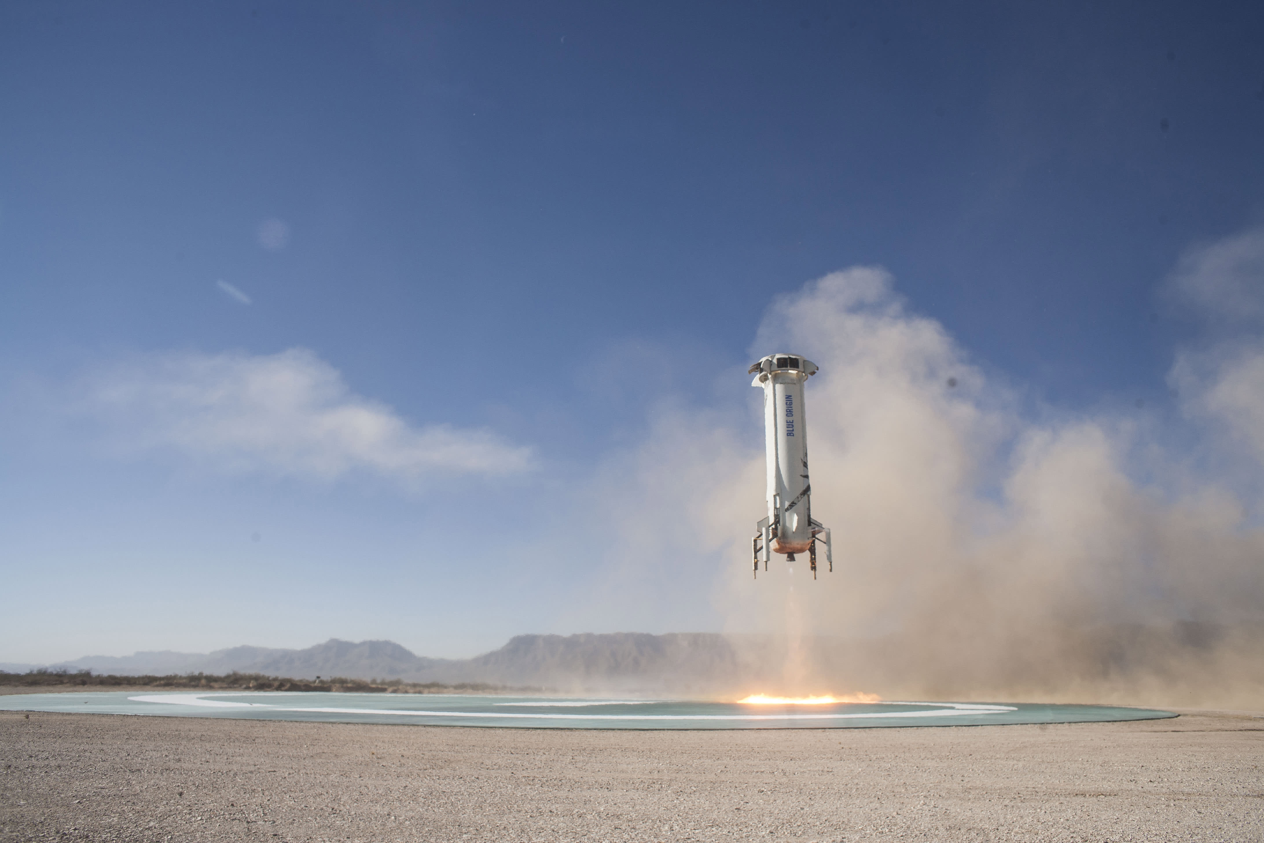 Blue Origin launches 8th New Shepard rocket