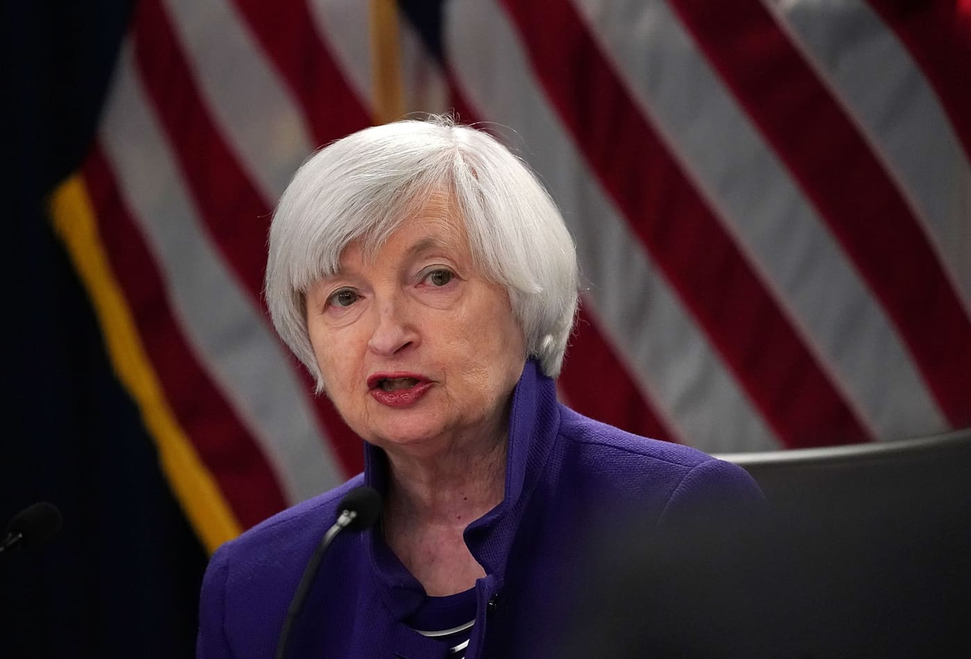 Yellen says the Fed doesn't need to buy equities now, but Congress should reconsider allowing it