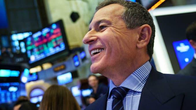 GS: Bob Iger CEO Disney at NYSE 17112