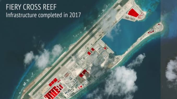 South China Sea: Beijing building projects in Spratly