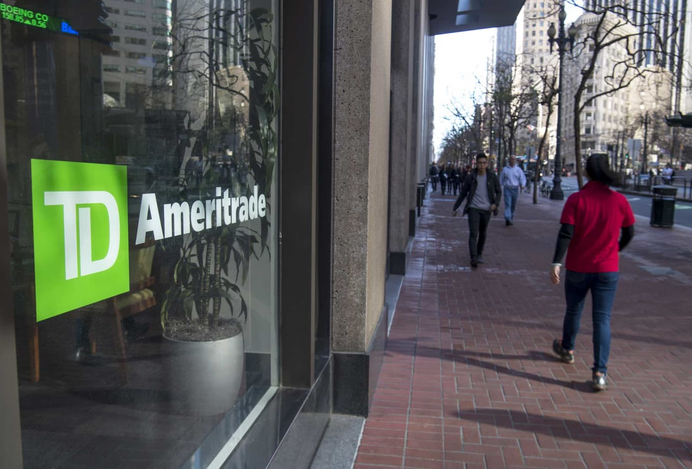 TD Ameritrade and other brokerages' shares tank after Interactive Brokers unveils service offering commission-free stock trades