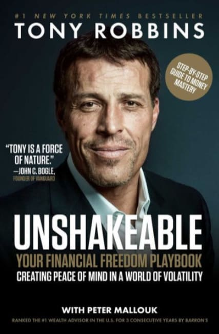 unshakeable tony robbins cover