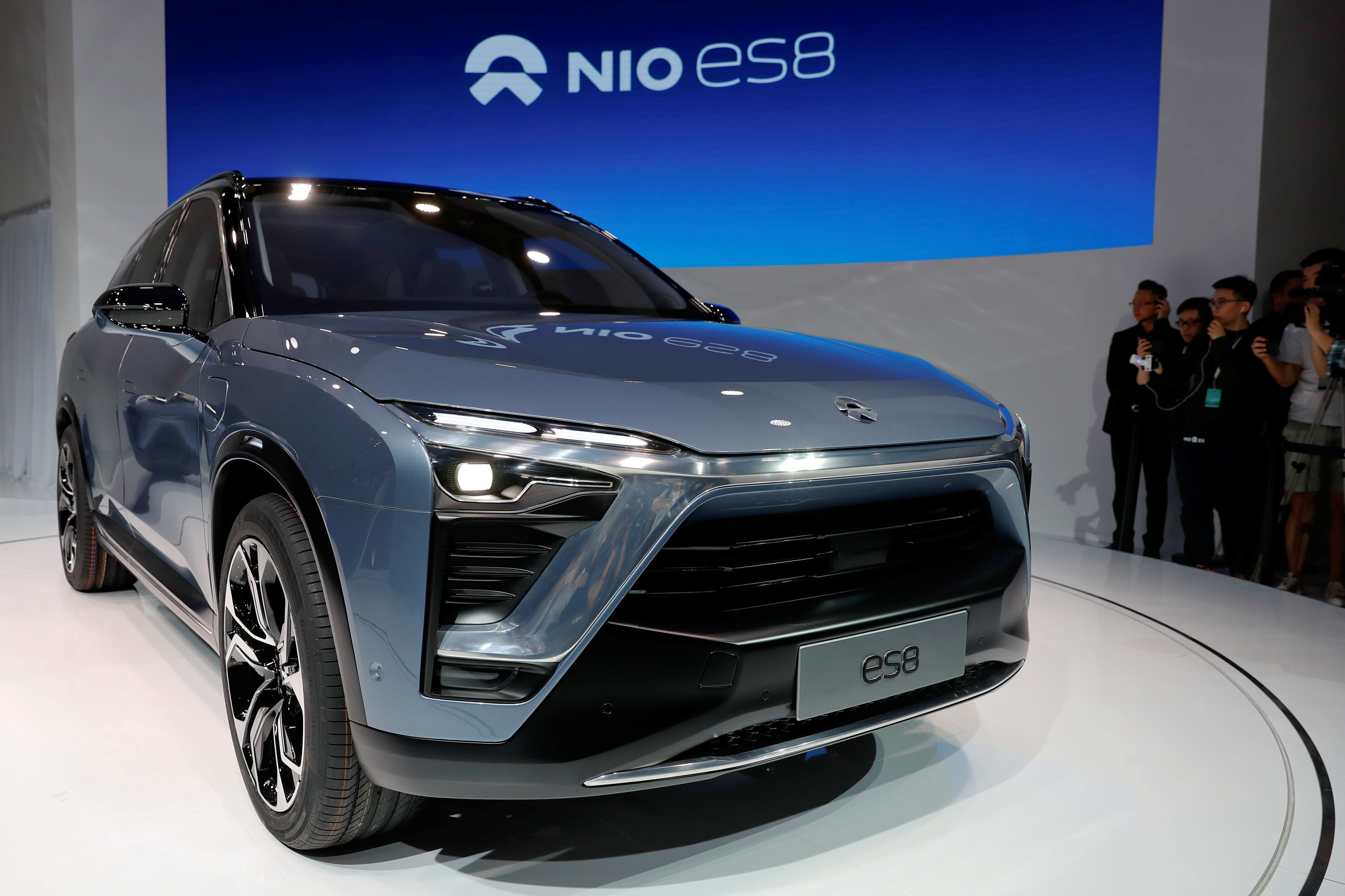 China's Nio takes on Tesla with a car half the price of Model X