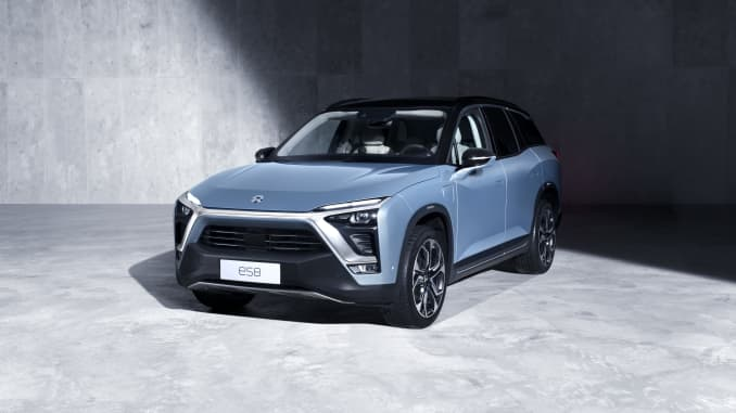 Nio Chinese Electric Car Company Files To Go Public