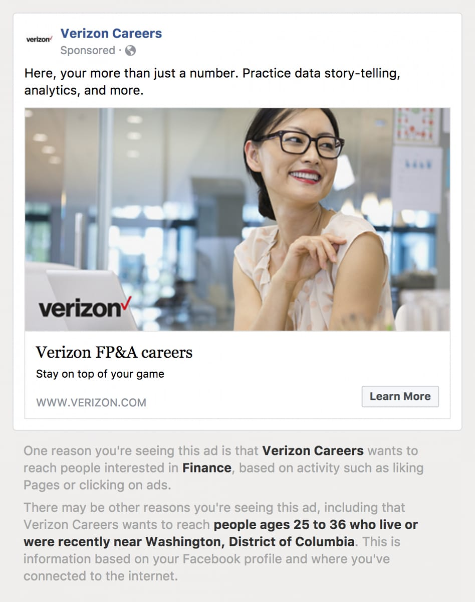 ONE TIME USE facebook verizon age ad 1