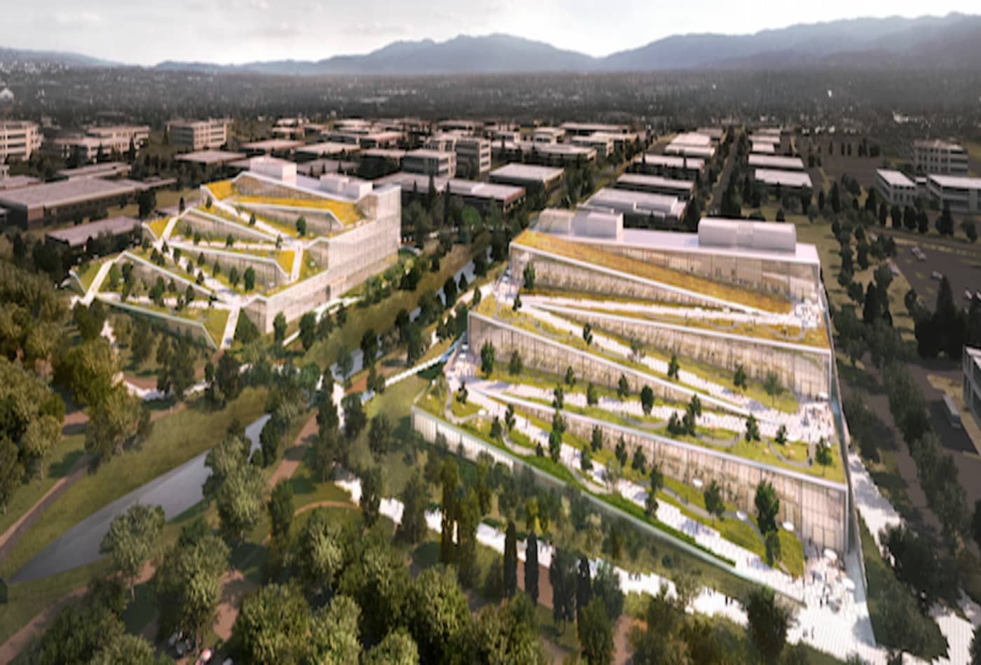 Here's a look at the massive new campus Google wants to build a few miles from its headquarters