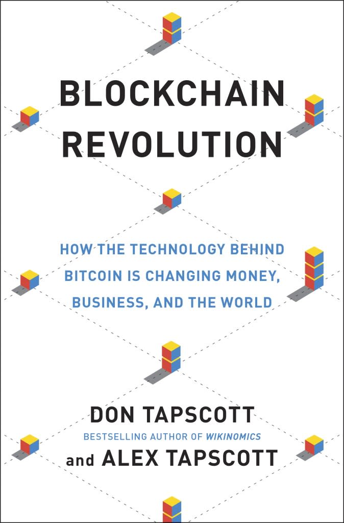 One time use: Blockchain Revolution cover