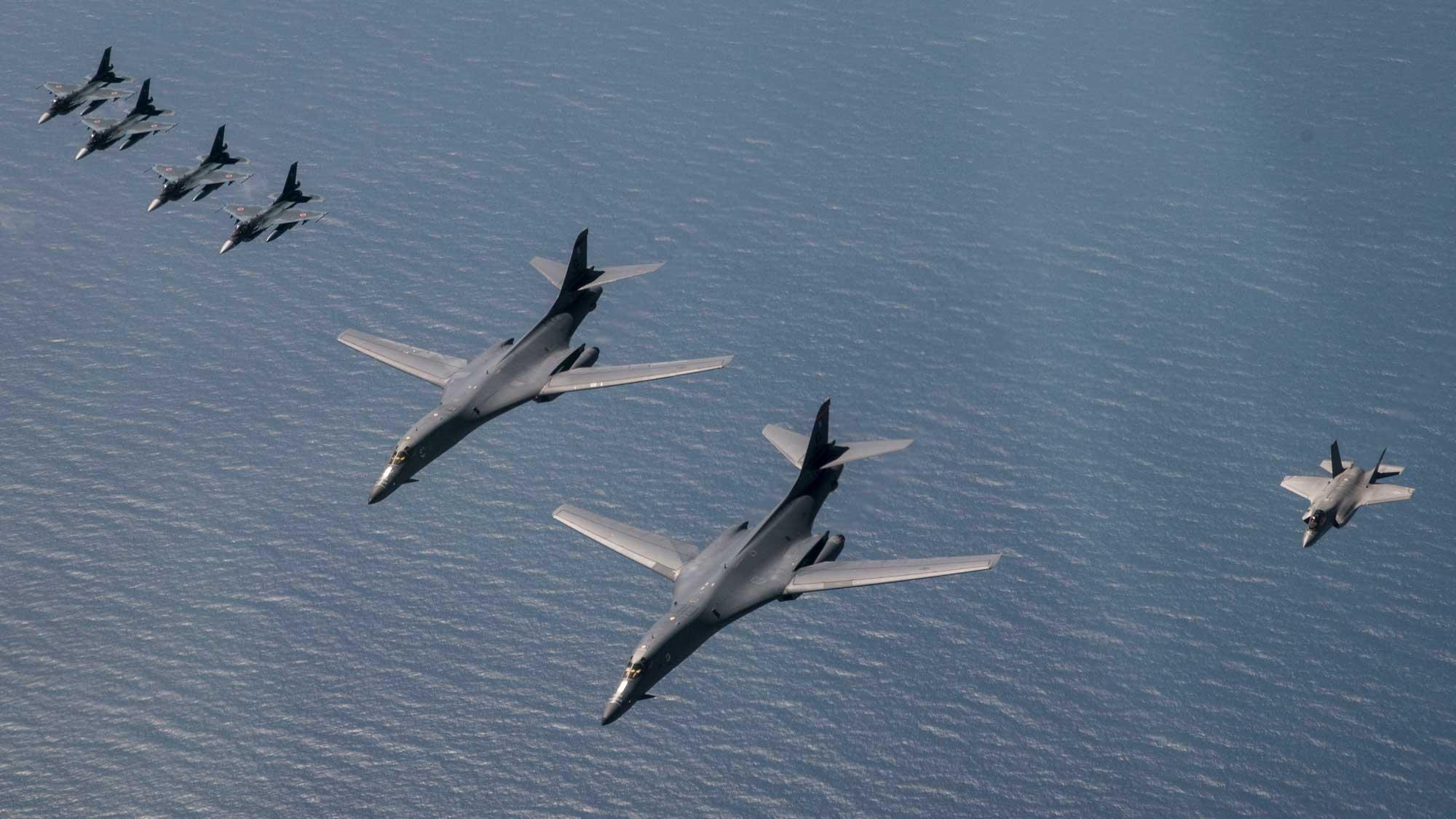 korean air force chart bases