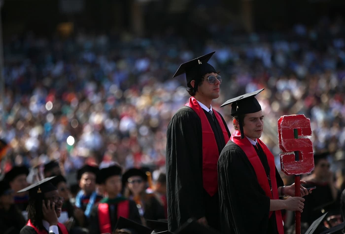 It costs $74,570 to go to Stanford—but here's how much students pay