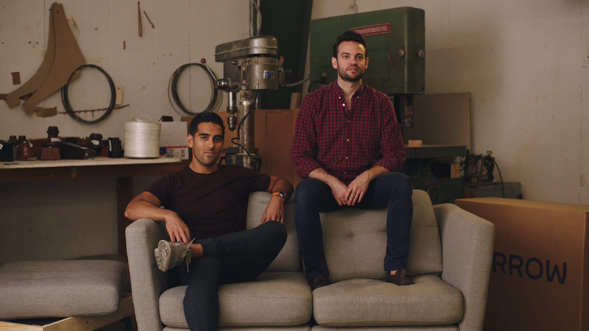 Kabeer Chopra (left) And Stephen Kuhl (right), Co Founders Of Burrow.