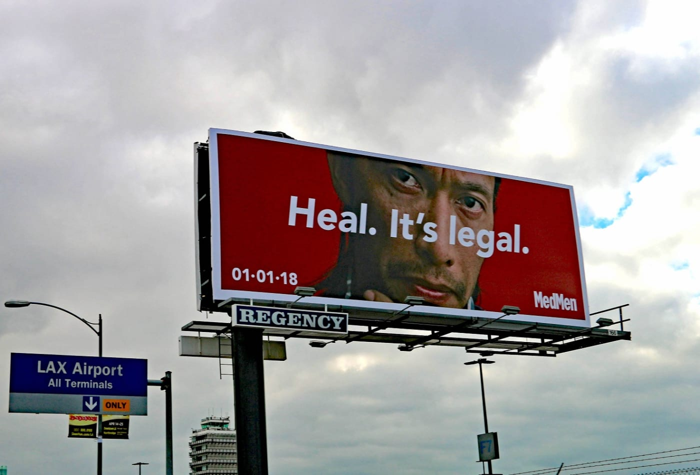 MedMen's 'largest marijuana marketing campaign' hits Los Angeles