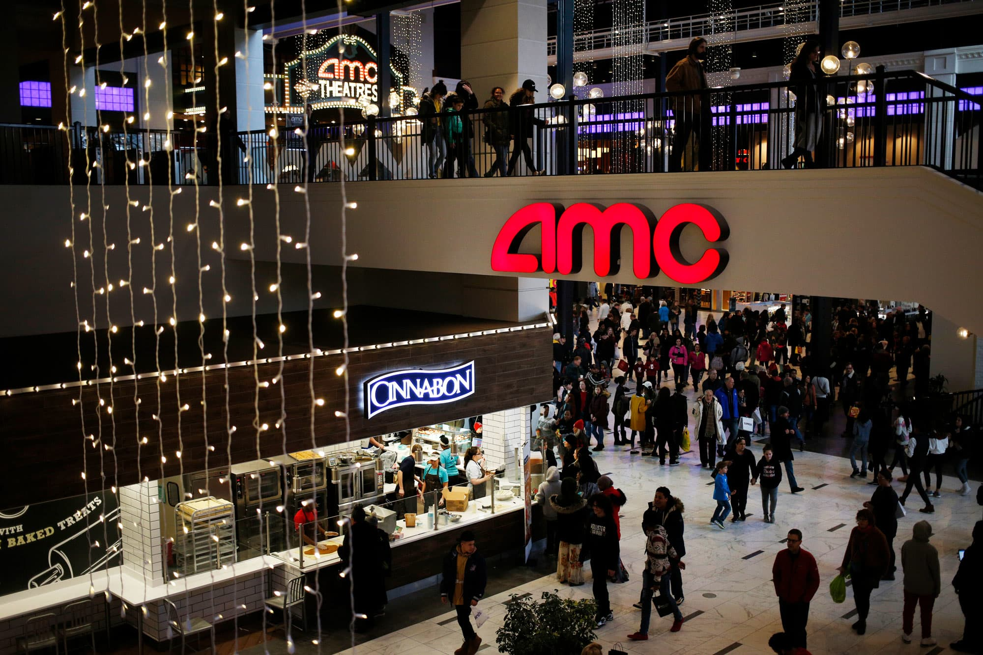 AMC movie chain to start selling Hollywood blockbusters in the living room