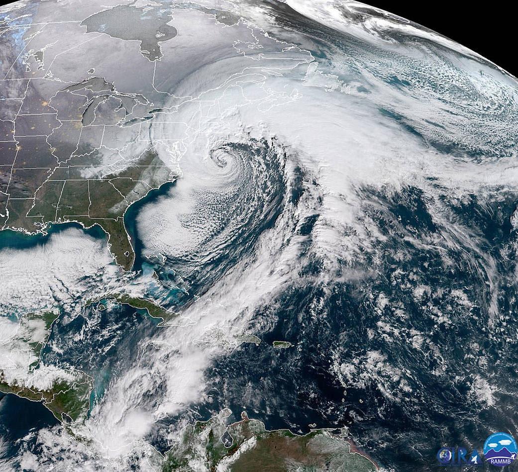 HANDOUT NASA Bomb Cyclone