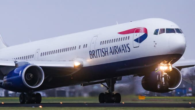 British Airways owner IAG earnings Q3 2018