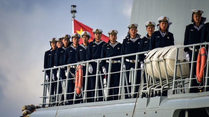 Beijing's new 'landing ship' could be used to help invade Taiwan