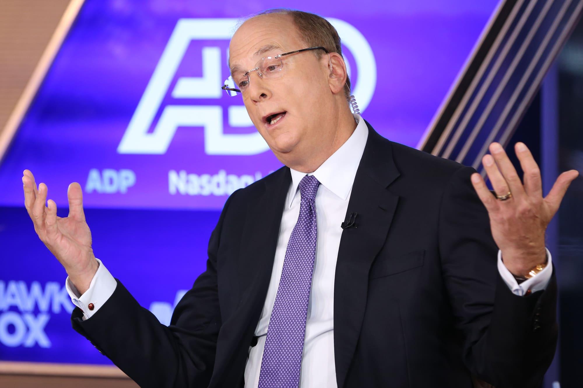 BlackRock CEO Larry Fink surpasses $1 billion in personal