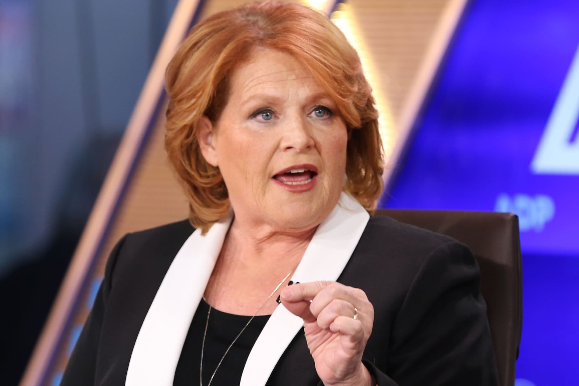 Heidi Heitkamp on what needs to be done to lessen the gap in income inequality