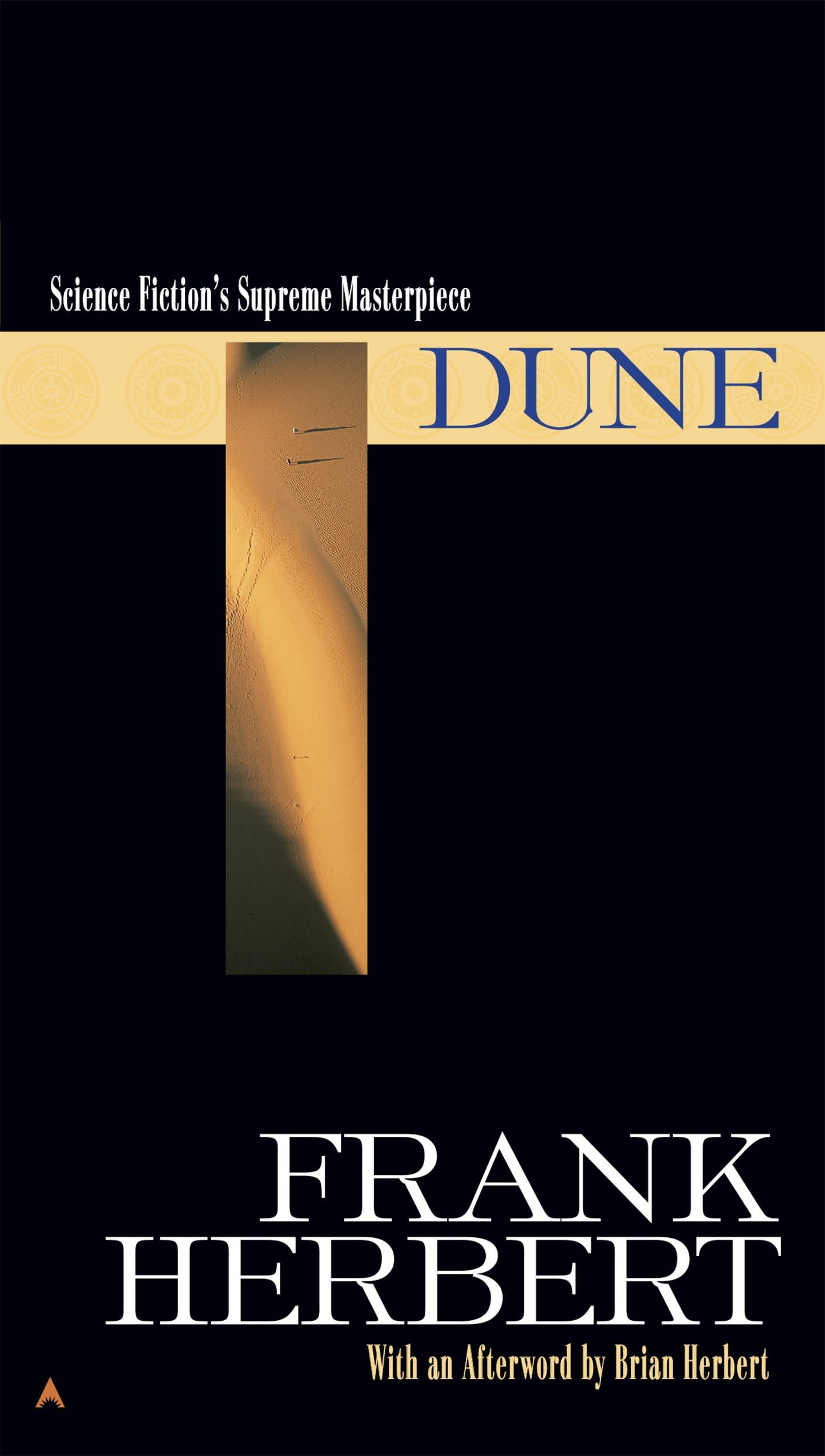 One time use: Dune book cover