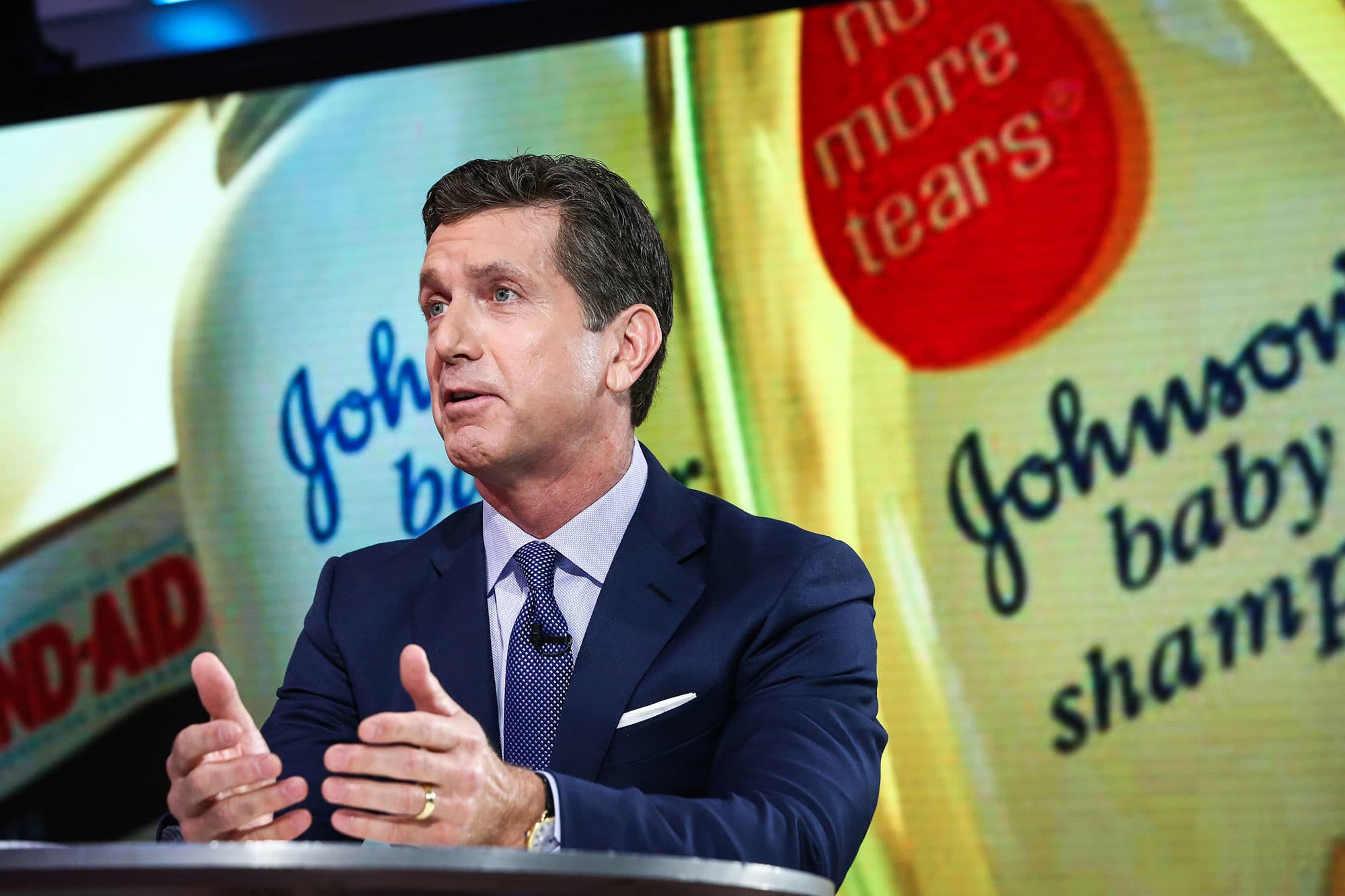 Johnson & Johnson CEO defends drug prices, calls for changes in how medical costs are covered